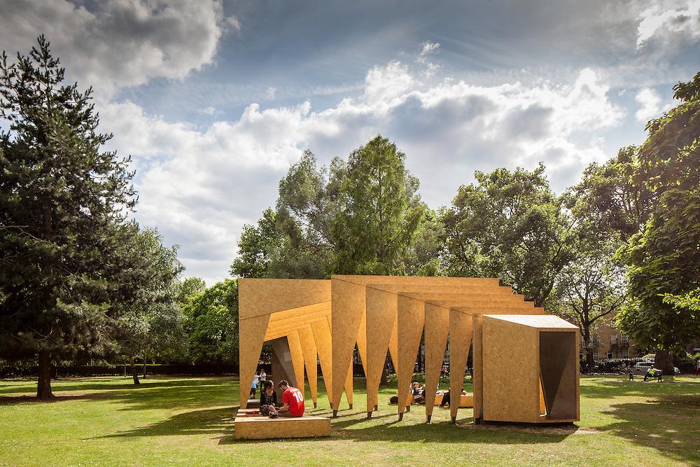triumph pavillion london festival architecture ecospace itp architects wooden temporary pavillion