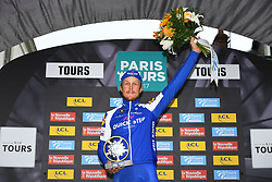 October 8, 2017 - Tours, France - TOURS, FRANCE - OCTOBER 8 : TRENTIN Matteo (ITA) Rider of Quick-Step Floors Cycling team during the 111th edition of the Paris-Tours cycling race with start in Brou and finish in Tours on October 08, 2017 in Tours, France, 8/10/2017 (Credit Image: © Panoramic via ZUMA Press)