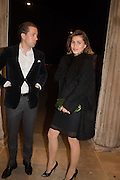 MICHAEL BIEHL; MARINA BOROZNA, Serpentine Gallery and Harrods host the Future Contempories Party 2016. Serpentine Sackler Gallery. London. 20 February 2016