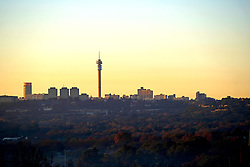 JOHANNESBURG, SOUTH AFRICA - MAY 10: A general view of Johannesburg city during lockdown level 4 on May 10, 2020 in Johannesburg, South Africa. According to media reports, during lockdown level 4 people are allowed to exercise. Guidelines allow for cycling, running and walking as examples and must be within a 5km radius of their residences between 6:00 am – 9:00 am. (Photo by Dino Lloyd)