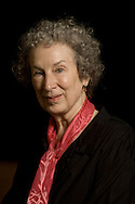 Internationally bestselling author Margaret Atwood, pictured at the Edinburgh International Book Festival where she talked about her career in literature. The three-week event is the world's biggest literary festival and is held during the annual Edinburgh Festival. The 2009 event featured talks and presentations by more than 500 authors from around the world.