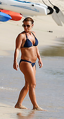 Wayne and Coleen Rooney are spotted on the beach with their sons - 29 May 2018