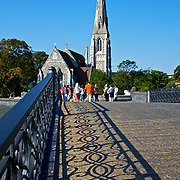 St. Alban's, the anglican English Church in Copenhagen, is situated in the Churchill Park just outside the Copenhagen Citadel (Kastellet).