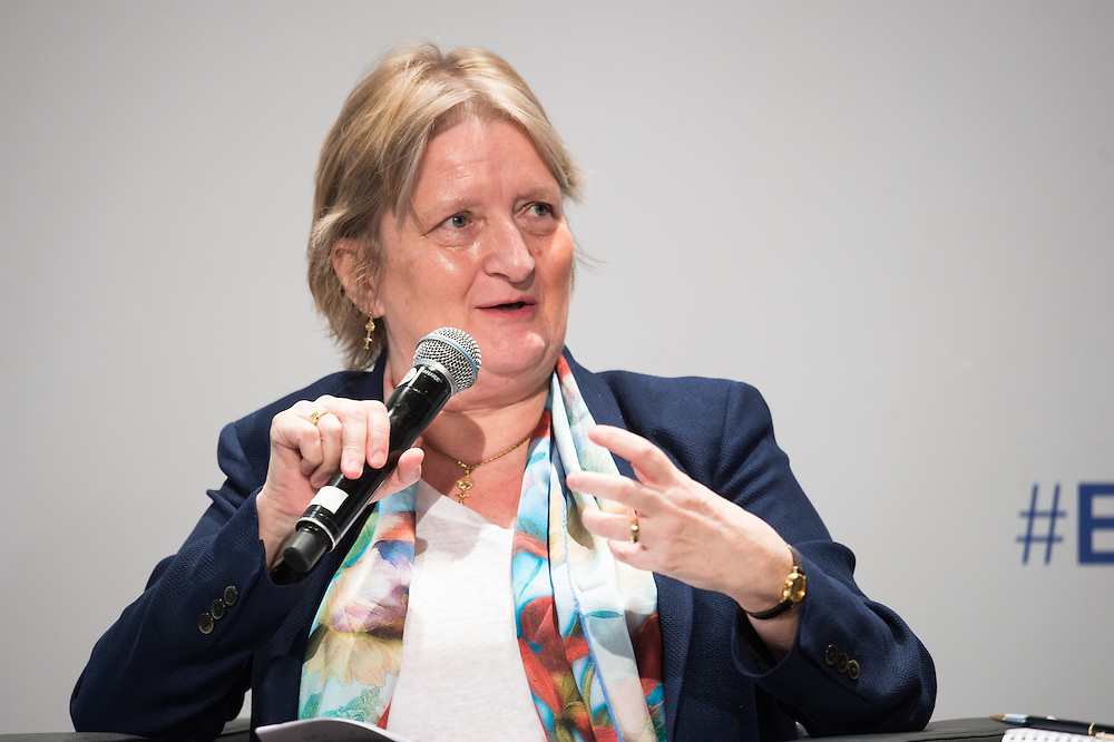04 June 2015 - Belgium - Brussels - European Development Days - EDD - Health - Realising the right to health for all by 2030 - Time for a paradigm shift towards equity in healthcare - Marleen Temmerman , Director for Reproductive Health and Research , World Health Organization (WHO) © European Union