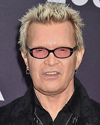 MOCA Benefit Arrivals. 18 May 2019 Pictured: Billy Idol. Photo credit: MEGA TheMegaAgency.com +1 888 505 6342