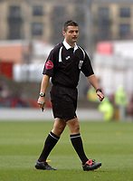 Photo: Leigh Quinnell.<br /> Nottingham Forest v Colchester United. Coca Cola League 1. 08/04/2006. Referee I G Williamson