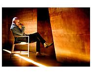 Thomas Blachman, jazzmusiker, komponist, producer og dommer i X Factor. Her er Thomas Blachman fotograferet i Koncerthuset i DR-Byen.
