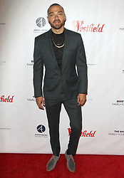 Joe Morton 'Turn Me Loose' opening at the Wallis at he Wallis Annenberg Center for the Performing Arts in Beverly Hills, California on 10/15/17. 15 Oct 2017 Pictured: Jesse Williams. Photo credit: River / MEGA TheMegaAgency.com +1 888 505 6342
