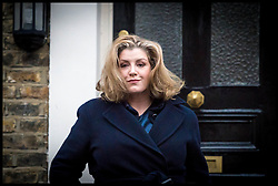 November 20, 2018 - London, London, United Kingdom - Penny Mordaunt Leaving Her Home...Penny Mordaunt MP, Secretary of State for International Development and Minister for Women and Equalities leaving her home in South London. Mordaunt is reportedly considering resigning from the Cabinet over Theresa May's controversial Brexit deal. (Credit Image: © Pete Maclaine/i-Images via ZUMA Press)
