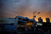 Belo Horizonte_MG, Brasil...Belo Horizonte ao entardecer...Belo Horizonte in the dusk...Fotos: LEO DRUMOND / NITRO