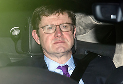 © Licensed to London News Pictures. 15/01/2019. London, UK. GREG CLARK leaves Parliament in Westminster, London, Agree MPs rejected British Prime Minster Theresa May's proposed transition deal with the EU on the UK's exit from the European Union. Photo credit: Ben Cawthra/LNP