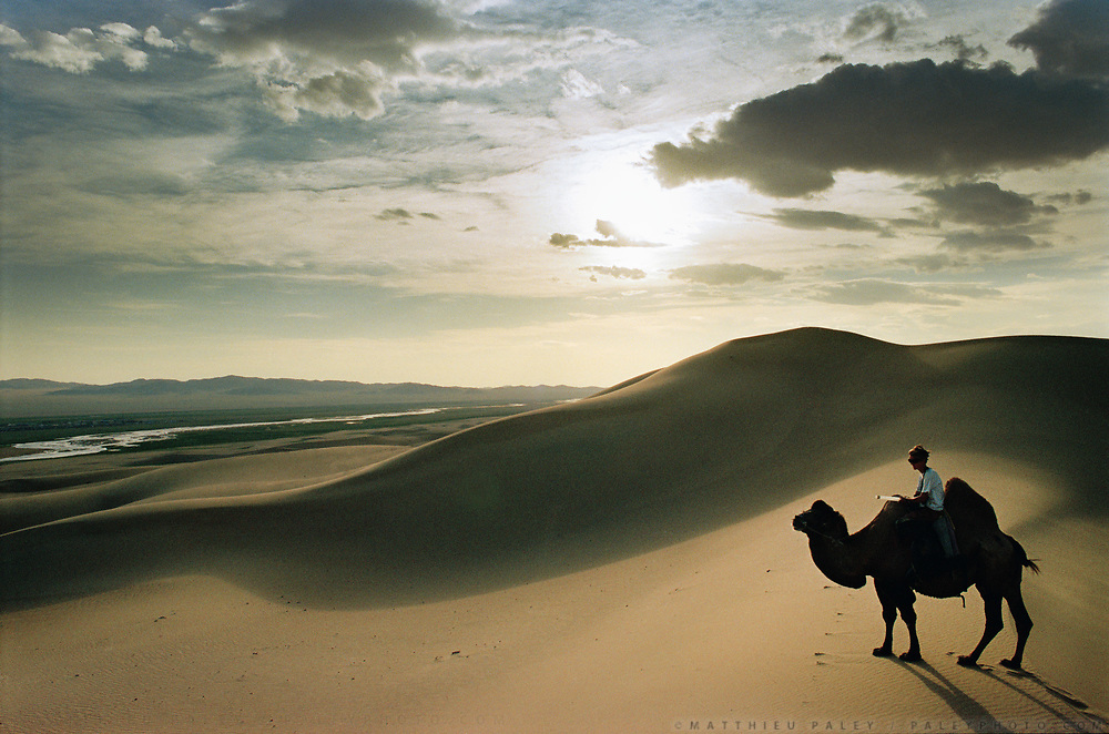 Mongolia is a trekker's paradise, with virtually unlimited possibilities of remote treks. Camping is available anywhere as land-ownership is impossible in Mongolia. It is also easy to rent camels from local nomads and take a ride through the Gobi desert.