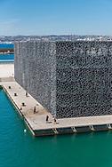 MuCEM in Marseille, France.