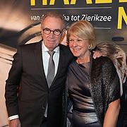 NLD/Amsterdam/20200123 - Premiere Haal Het Doek Maar Op, Edvard Niessing en partner Inge