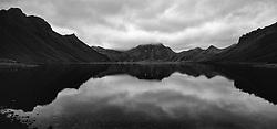 The lake Kirkjufellsvatn at Fjallabaki, highlands of Iceland - Kirkjufellsvatn að Fjallabaki
