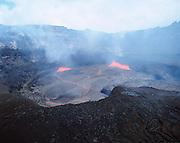 Pu'u O'o veantKilauea Volcano, Hawaii Volcanoes National Park, Island of Hawaii, Hawaii, USA<br />