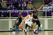 FORT WORTH, TX - JANUARY 7: Wesley Iwundu #25 of the Kansas State Wildcats defends against Amric Fields #4 of the TCU Horned Frogs on January 7, 2014 at Daniel-Meyer Coliseum in Fort Worth, Texas.  (Photo by Cooper Neill/Getty Images) *** Local Caption *** Wesley Iwundu; Amric Fields