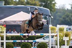 Dings Vincent, NED, Cream Couleur Z<br /> Nederlands Kampioenschap Springen<br /> De Peelbergen - Kronenberg 2020<br /> © Hippo Foto - Dirk Caremans<br />  09/08/2020