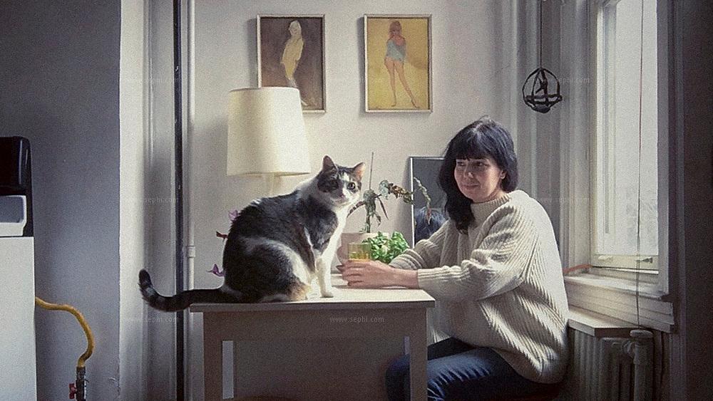 Anastasia Yuferova and Charlie (the cat) on lockdown in Williamsburg, Brooklyn, since March 13. April 29th, 2020