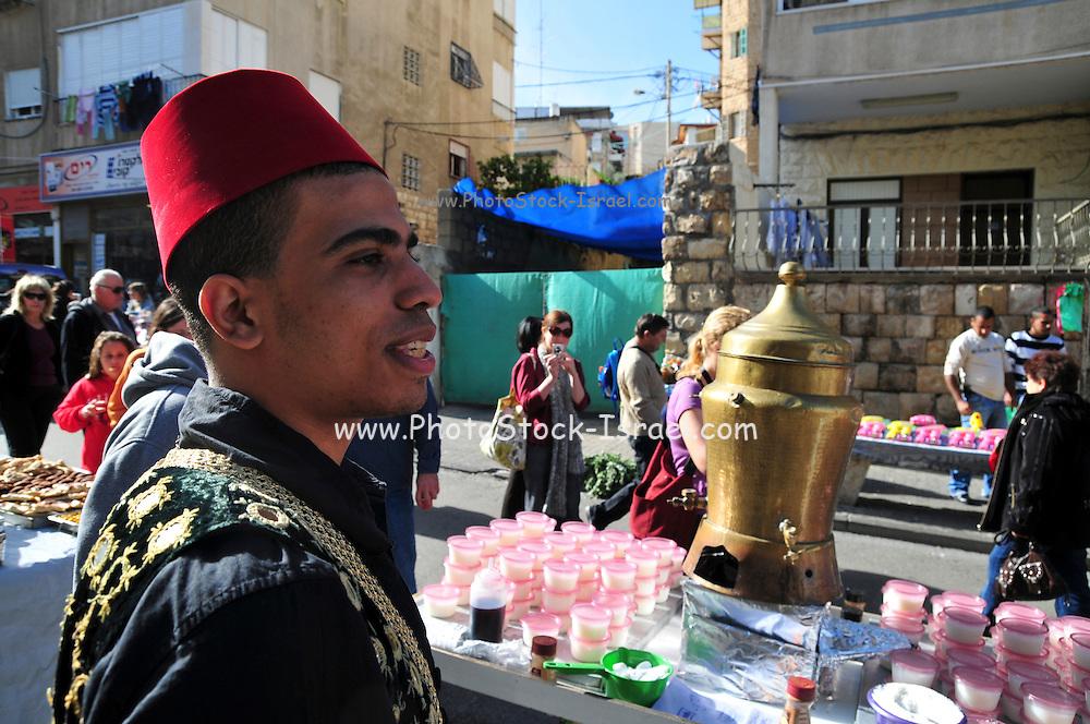 Israel, Haifa, Wadi Nisnas, the Holiday of holidays festival, celebrating Hanuka-Christmas-Ramadan December 2009