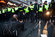 Anti-capitalist protesters attempted to occupy a building in London. Panton House on Panton Street. Riot police entered and cleared the building. They were targeting Mick Davis, CEO of mining company Xstrata, which has offices in the building and is one of the highest paid from FTSE 100 companies.