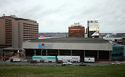Metro Centre & World Trade & Convention Centre in Halifax. Metro Centre is Ice-Hockey Arena of IIHF World Championship 2008,  on May 01, 2008, Halifax, Canada.  (Photo by Vid Ponikvar / Sportal Images)