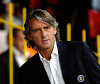 Photo: Ed Godden.<br /> Watford v Inter Milan. Pre Season Friendly. 08/08/2006.<br /> Inter Milan Manager Roberto Mancini.