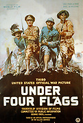Under four flags Third United States official war picture. Martiny, Philip, 1858-1927.