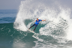 Bede Durbidge of Australia finished equal 13th in the 2017 Quiksilver Pro France after placing second to Kolohe Andino of the USA in Heat 2 of Round Three at Hossegor, Landes, France.