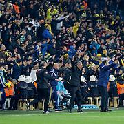 Fenerbahce's coach Ismail Kartal during their Turkish superleague soccer derby Fenerbahce between Trabzonspor at the Sukru Saracaoglu stadium in Istanbul Turkey on Saturday 07 February 2015. Photo by Aykut AKICI/TURKPIX