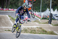 #11 (FIELDS Connor) USA during practice at Round 5 of the 2018 UCI BMX Superscross World Cup in Zolder, Belgium