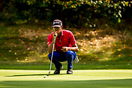 01-09-2016 Golffoto's van het Nationaal Open op de Hilversumsche Golf Club in Hilversum. Ronde 3.  Ruben van Uden