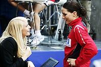 Håndball , 14. desember 2010 , EM dammer , <br /> Norge - Ukraina<br /> <br /> Handball , Euro 2010 <br /> Norway - Ukraine<br /> <br /> Gro Hammerseng  , Norge og  Randi Gustad TV2 , ekspertkommentator