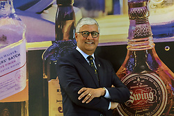 Pictured: Diageo CEO Ivan Menezes<br /> <br /> Diageo CEO Ivan Menezes in Scotland to announce investment in whisky visitor centres 16042018 pic copyright Terry Murden @edinburghelitemedia <br /> <br /> Terry Murden | EEm 16 April 2018