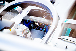February 19, 2019 - Montmelo, Barcelona, Catalonia, Spain - Barcelona-Catalunya Circuit, Montmelo, Catalonia, Spain - 19/02/2018: DETAIL of Valtteri Bottas new W10 car's steering wheel (Mercedes AMG Petronas Formula One Team with during second journey of F1 Test Days in Montmelo circuit. (Credit Image: © Javier MartíNez De La Puente/SOPA Images via ZUMA Wire)