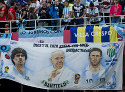 June 21, 2018 - Nizhny Novgorod, Russia - 2018 FIFA World Cup Russia group D match between Argentina and Croatia at Nizhny Novgorod Stadium on June 21, 2018 in Nizhny Novgorod, Russia. (Credit Image: © Foto Olimpik/NurPhoto via ZUMA Press)