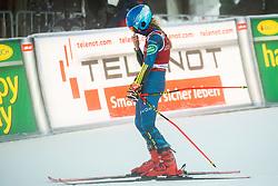 Mikaela Shiffrin (USA) reacts during 2nd Run of Ladies' Giant Slalom at 57th Golden Fox event at Audi FIS Ski World Cup 2020/21, on January 16, 2021 in Podkoren, Kranjska Gora, Slovenia. Photo by Vid Ponikvar / Sportida