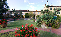 MONTECATINI - Golfclub Montecatini in ToscaneCOPYRIGHT KOEN SUYK Montecatini - Montecatini Golf Club en resort, terme, COPYRIGHT KOEN SUYK