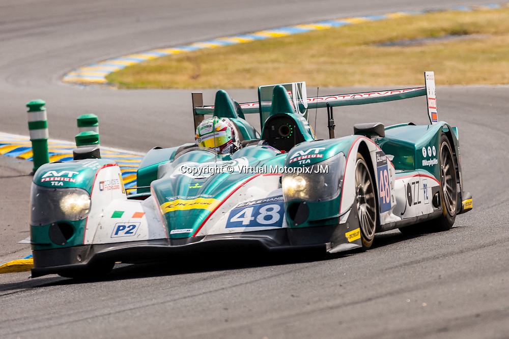 #48, Oreca 03R-Nissan, Murphy Prototypes, Nathanael Berthon, Karun Chandhok, Mark Patterson, Le Mans 24H 2015