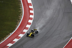 October 19, 2018 - Austin, United States - 27 HULKENBERG Nico (ger), Renault Sport F1 Team RS18, action during the 2018 Formula One World Championship, United States of America Grand Prix from october 18 to 21 in Austin, Texas, USA -  /   , Motorsports: FIA Formula One World Championship; 2018; Grand Prix; United States, FORMULA 1 PIRELLI 2018 UNITED S GRAND PRIX , Circuit of The Americas  (Credit Image: © Hoch Zwei via ZUMA Wire)