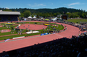 General overall view of Hayward Field during the 30th Prefontaine Classic, Saturday, June 19, 2004, in Eugene, Ore.