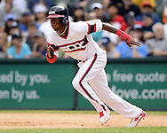 CHICAGO - AUGUST 28:  Tim Anderson #12 of the Chicago White Sox runs the bases against the Seattle Mariners on August  28, 2016 at U.S. Cellular Field in Chicago, Illinois.  The White Sox defeated the Mariners 4-1.  (Photo by Ron Vesely/MLB Photos via Getty Images)  *** Local Caption *** Tim Anderson