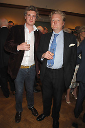 Left to right, WILLIAM ROPER-CURZON and DAVID ROPER-CURZON at a reception to launch the Knight of Glin's book 'Irish Furniture' and Harry Erne's book 'Freddy Lond Ears' held at Christie's, 8 King Street, London SW1 on 3rd May 2007.<br /><br />NON EXCLUSIVE - WORLD RIGHTS
