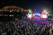 Nederland, The Netherlands, Nijmegen 14-7-2018 Recreatie, ontspanning, cultuur, dans, theater en muziek in de stad. Onlosmakelijk met de vierdaagse, zijn in Nijmegen de vierdaagse-feesten. De vierdaagsefeesten zijn het grootste evenement van Nederland en verbonden met de wandelvierdaagse. In de hele stad zijn tientallen podia een week lang bezet met artiesten .Foto: Flip Franssen