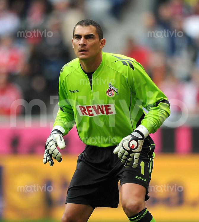 Fussball 1. Bundesliga :  Saison   2010/2011   4. Spieltag  18.09.2010 FC Bayern Muenchen - 1 FC Koeln Faryd Mondragon (1. FC Koeln)