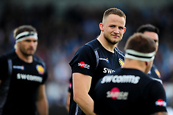 Johnny Hill- Mandatory by-line: Ryan Hiscott/JMP - 18/05/2019 - RUGBY - Sandy Park - Exeter, England - Exeter Chiefs v Northampton Saints - Gallagher Premiership Rugby