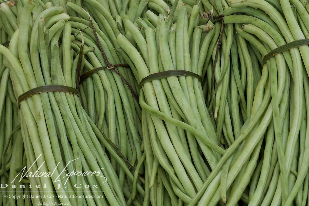 Green beans, Trinidad, Cuba.