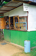 Small Indian Ocean style local shop in Victoria, Mahe, Seychelles