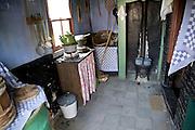 House interior Urk village, Zuiderzee museum, Enkhuizen, netherlands
