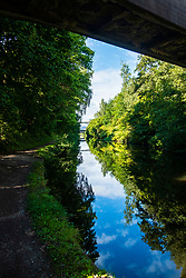 Sheffield & Tinsley Canal <br /> Attercliffe & Shirland Lane Bridge 8 heading towards Sheffield City Centre<br /> <br /> 06 September 2020<br /> <br /> www.pauldaviddrabble.co.uk<br /> All Images Copyright Paul David Drabble - <br /> All rights Reserved - <br /> Moral Rights Asserted -